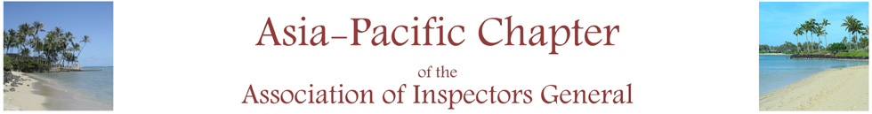 Asia-Pacific Inspectors General