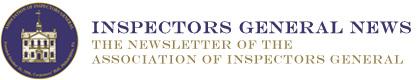 Inspectors General News